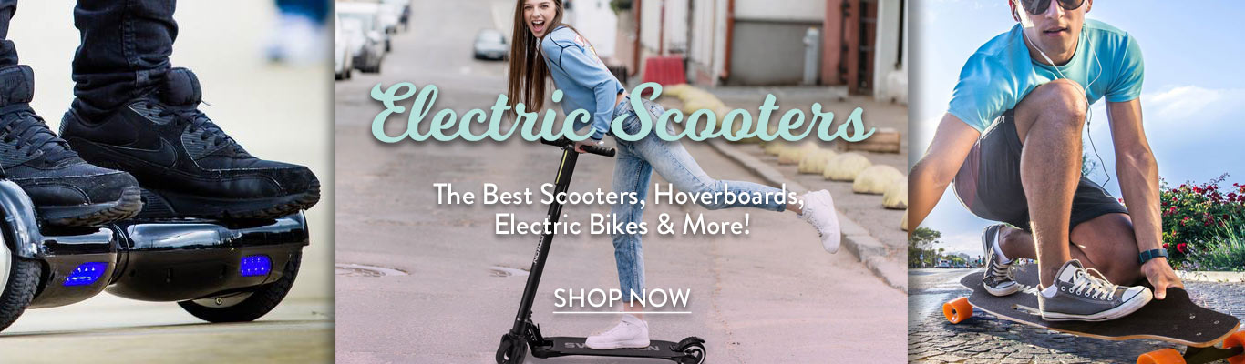 Save on Hoverboards and Powered Scooters
