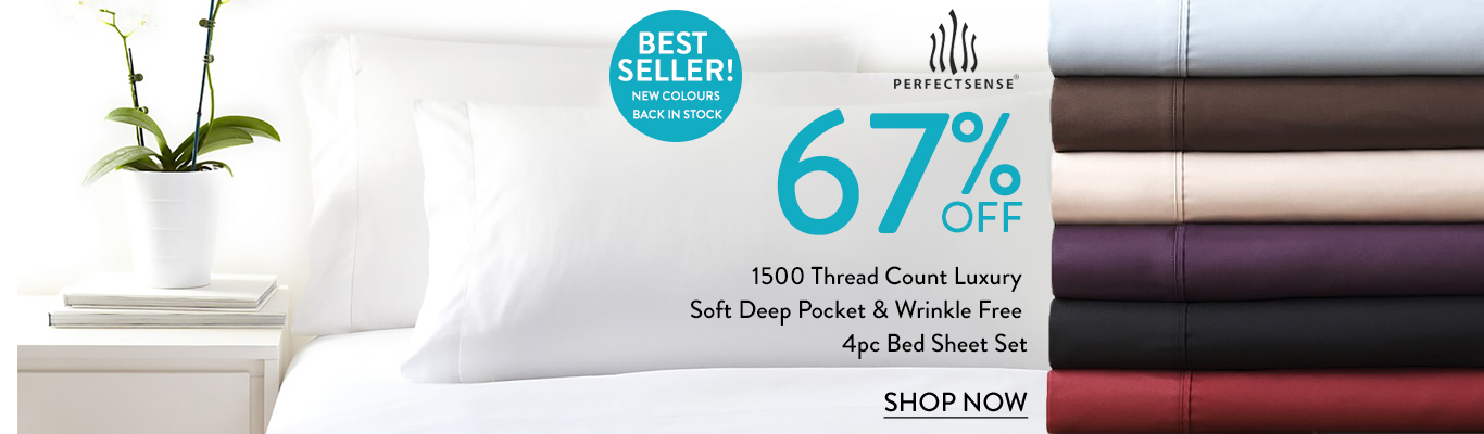 Save 67% on PerfectSense sheets