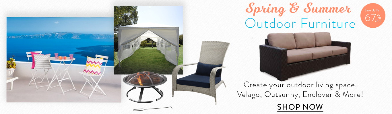 Save 50% on rain covers on select Velago Patio Sets
