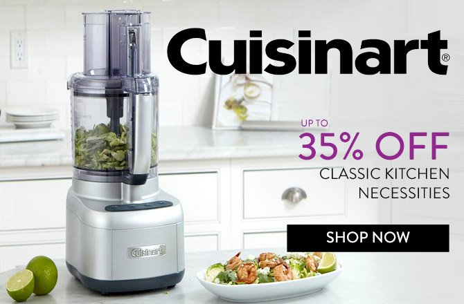 Save up to 35% on Cuisinart