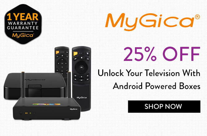 Save 25% On Android TV Boxes