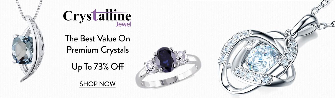 Save on Crystalline Jewel high quality Jewellery