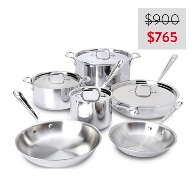 All-Clad Cookware Set
