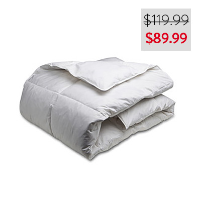 White Goose Feather Duvet