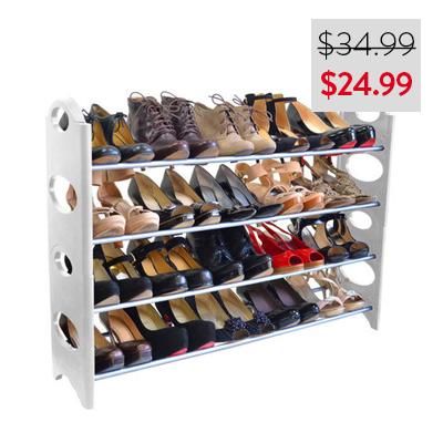 Linen Depot Shoe Rack