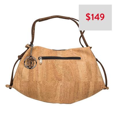 Cork By Design Half Moon Bag
