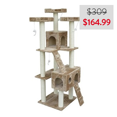 Cat Tree with 2 Condos