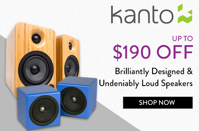 Kanto TV Stands, Mounts, and Speakers