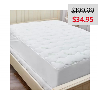 Bamboo Covered Waterproof Mattress Protector