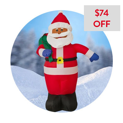Inflatable Outdoor Santa