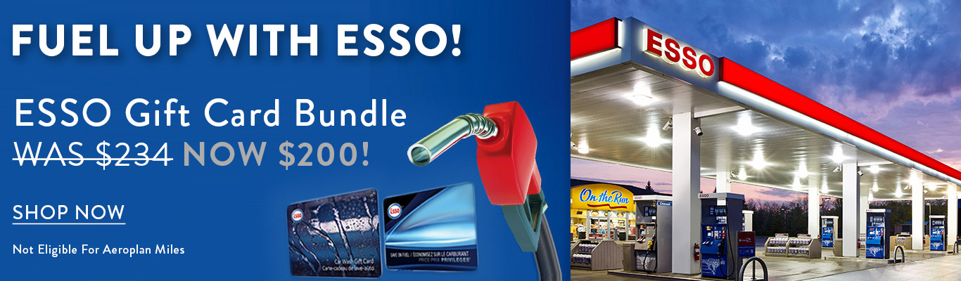 Save $34 on an Esso Gift Card Bundle