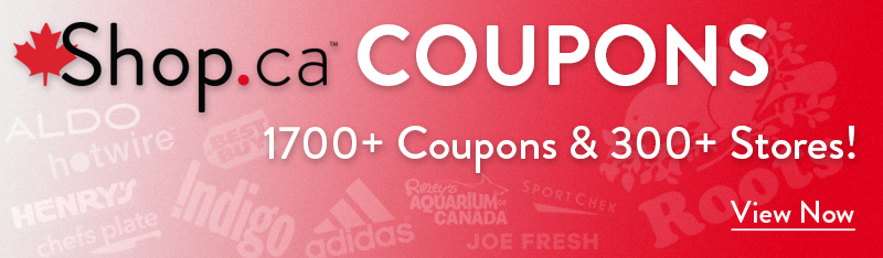 Access over 1000 Coupons on Shop.ca