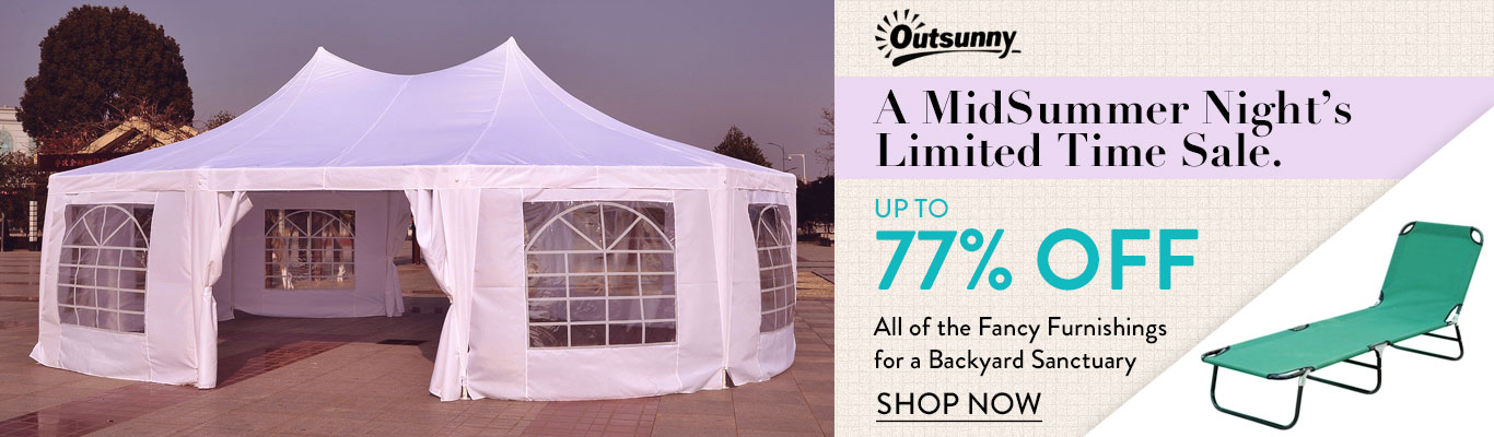 Save up to 77% off OutSunny