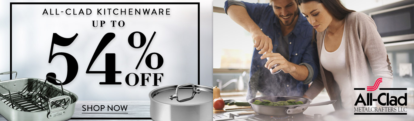 All-Clad 54% Off