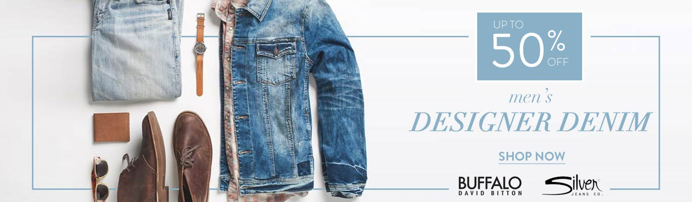 Men's Designer Denim