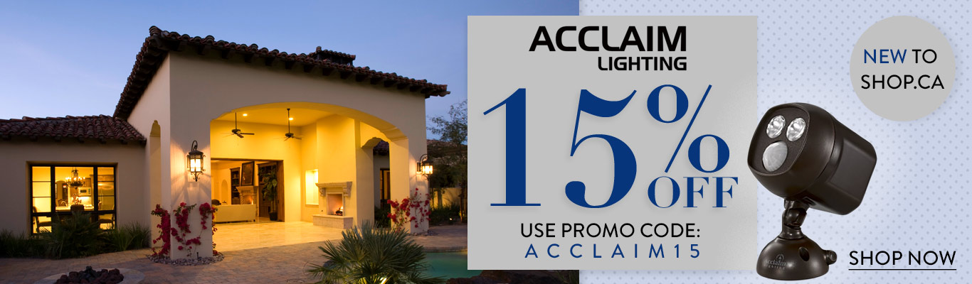 Acclaim Lighting - 15% Off