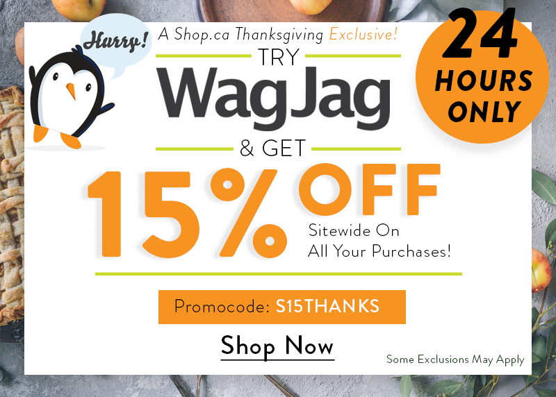 15% Off on WagJag